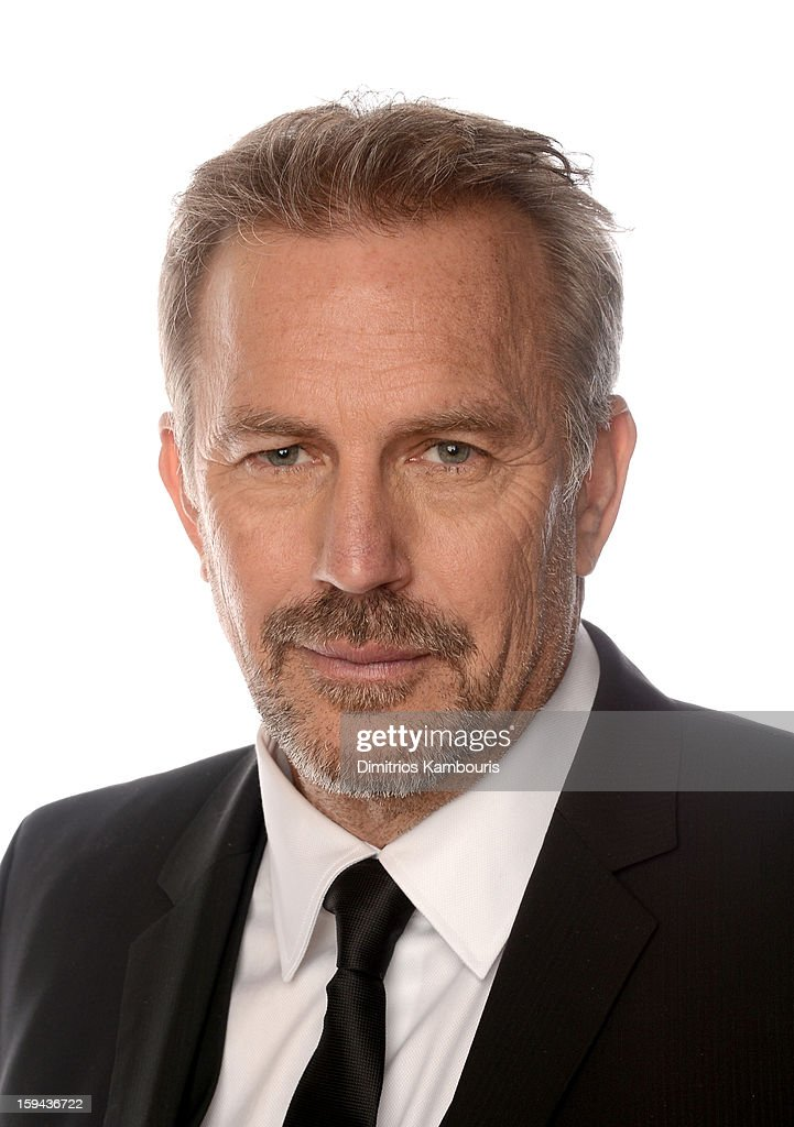 Actor <a gi-track='captionPersonalityLinkClicked' href=/galleries/search?phrase=Kevin+Costner&family=editorial&specificpeople=201719 ng-click='$event.stopPropagation()'>Kevin Costner</a>, winner of Best Actor in a Mini-Series or a Motion Picture Made for Television for 'Hatfields & McCoys', poses for a portrait at the 70th Annual Golden Globe Awards held at The Beverly Hilton Hotel on January 13, 2013 in Beverly Hills, California.