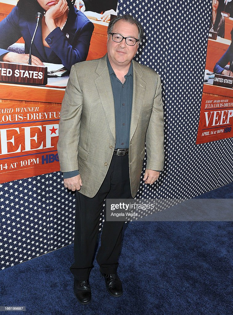 Actor Kevin Dunn attends the Los Angeles premiere for the second season of HBO's series 'Veep' at Paramount Studios on April 9, 2013 in Hollywood, California.