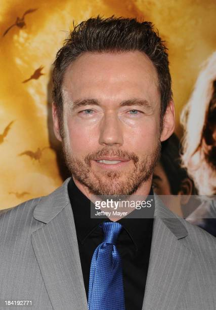 Actor Kevin Durand arrives at the Los Angeles premiere of 'The Mortal Instruments City Of Bones' at ArcLight Cinemas Cinerama Dome on August 12 2013...