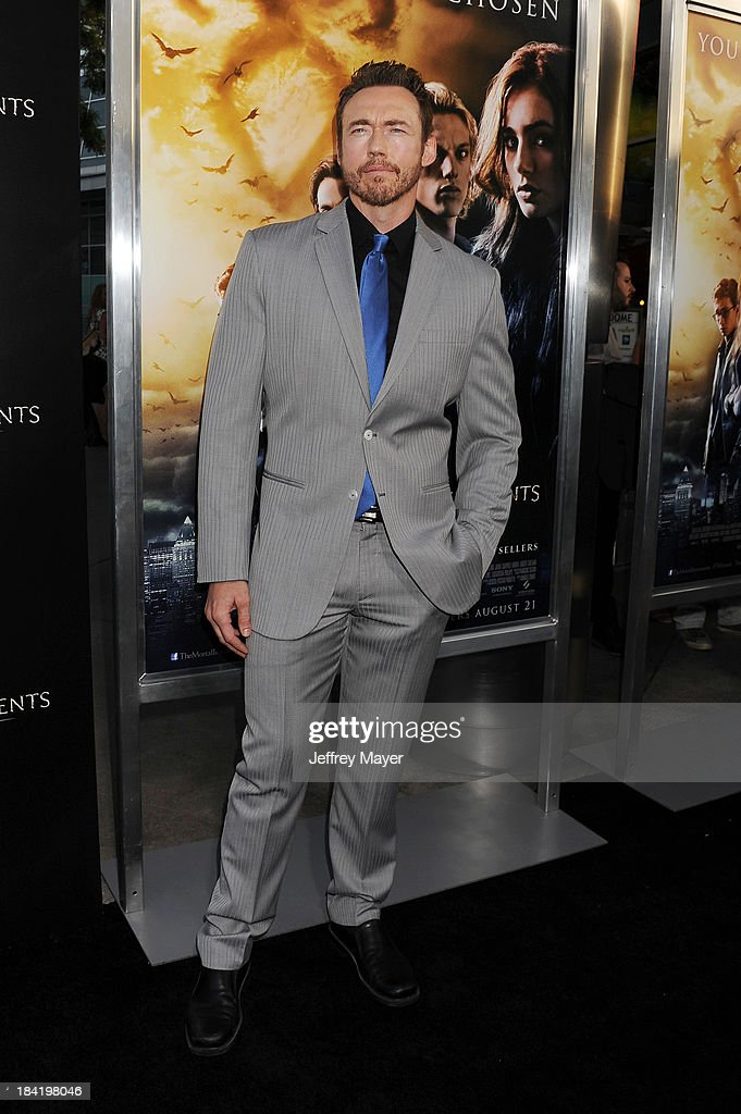 Actor <a gi-track='captionPersonalityLinkClicked' href=/galleries/search?phrase=Kevin+Durand&family=editorial&specificpeople=2528352 ng-click='$event.stopPropagation()'>Kevin Durand</a> arrives at the Los Angeles premiere of 'The Mortal Instruments: City Of Bones' at ArcLight Cinemas Cinerama Dome on August 12, 2013 in Hollywood, California.