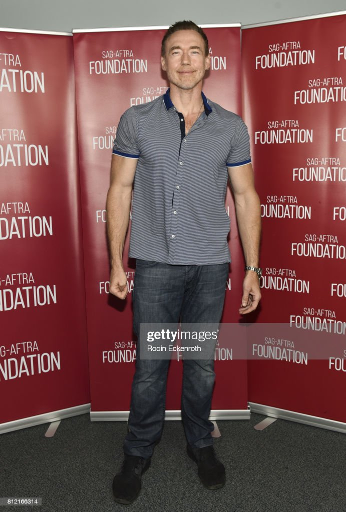 Actor Kevin Durand attends SAG-AFTRA Foundation's Conversations with 'The Strain' at SAG-AFTRA Foundation Screening Room on July 10, 2017 in Los Angeles, California.