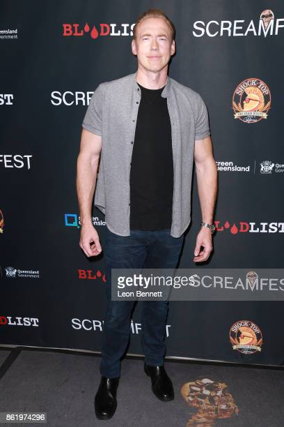 Actor Kevin Durand attends the 2017 Screamfest Horror Film Festival Premiere Of 'Tragedy Girls' at TCL Chinese 6 Theatres on October 15 2017 in...