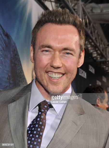 Actor Kevin Durand attends the 'Legion' Los Angeles premiere at ArcLight Cinemas Cinerama Dome on January 21 2010 in Hollywood California