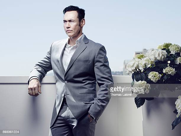 Actor Kevin Durand is photographed for Self Assignment on May 17 2014 in Cannes France