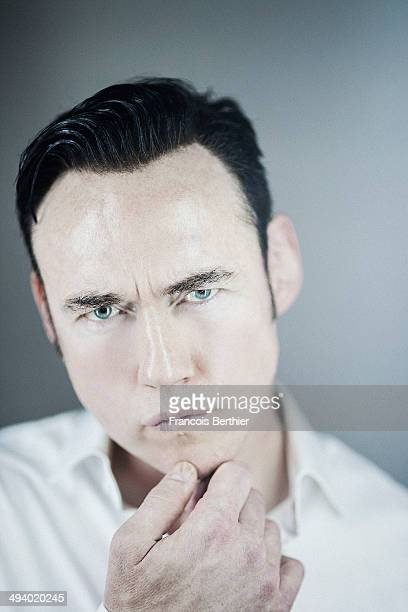 Actor Kevin Durand is photographed for Self Assignment on May 20 2014 in Cannes France
