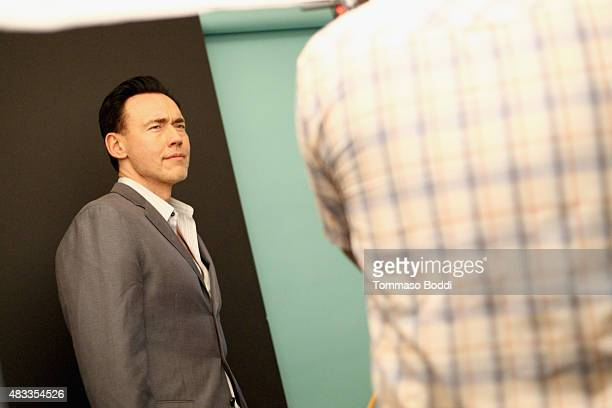 Actor Kevin Durand of FX's 'The Strain' attends the Getty Images Portrait Studio powered by Samsung Galaxy at 2015 Summer TCA's at The Beverly Hilton...