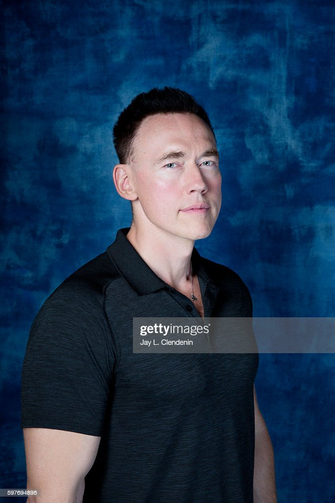 Actor Kevin Durand of FX's 'The Strain' is photographed for Los Angeles Times at San Diego Comic Con on July 22, 2016 in San Diego, California.
