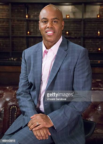 Actor Kevin Frazier attends Kevin Frazier hosts roundtable discussion with CBS Daytime's NAACP Award Nominees at The Sayers Club on February 14 2014...