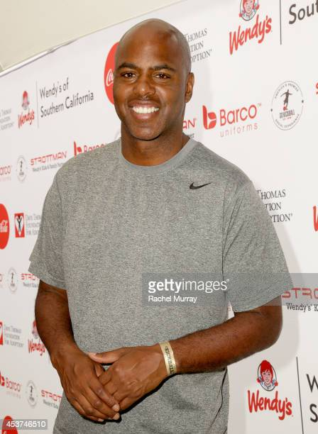 Actor Kevin Frazier attends Kickball For A Home Celebrity Challenge presented by Dave Thomas Foundation For Adoption at USC on August 16 2014 in Los...