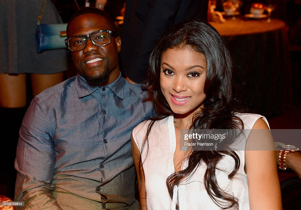 Actor Kevin Hart and Eniko Parrish attends Spike TV's 'Guys Choice 2014' at Sony Pictures Studios on June 7, 2014 in Culver City, California.