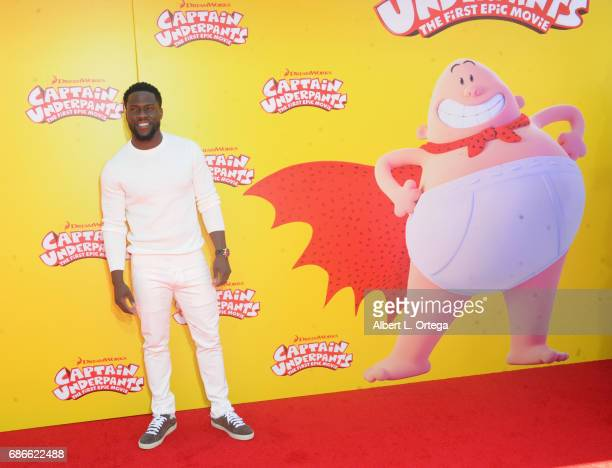 Actor Kevin Hart arrives for Premiere Of 20th Century Fox's 'Captain Underpants The First Epic Movie' held at Regency Village Theatre on May 21 2017...