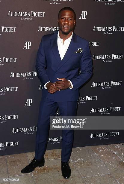 Actor Kevin Hart attends Audemars Piquet Celebrates Grand Opening of Rodeo Drive Boutique on December 9 2015 in Beverly Hills California
