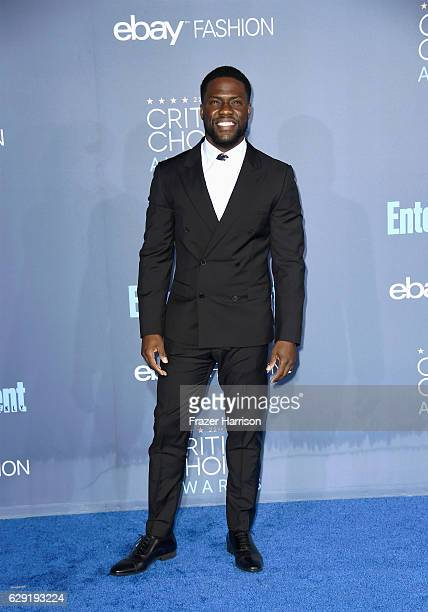 Actor Kevin Hart attends The 22nd Annual Critics' Choice Awards at Barker Hangar on December 11 2016 in Santa Monica California
