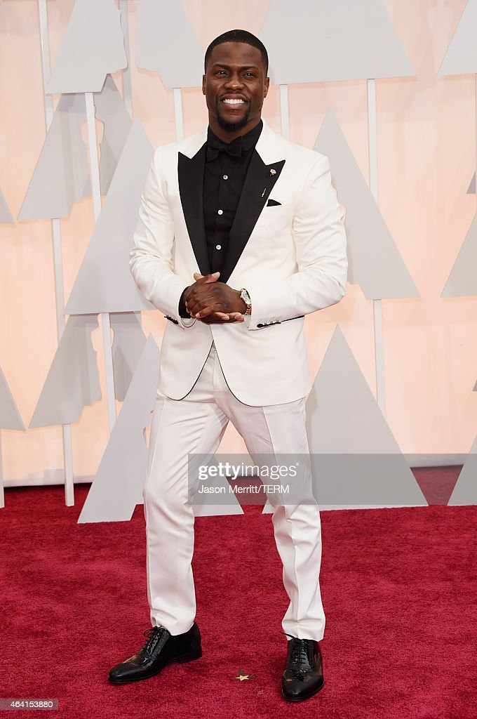 Actor Kevin Hart attends the 87th Annual Academy Awards at Hollywood Highland Center on February 22 2015 in Hollywood California