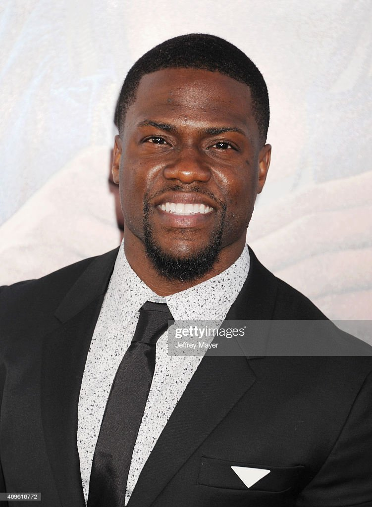 Actor Kevin Hart attends the 'Get Hard' Los Angeles premiere held at the TCL Chinese Theatre IMAX on March 25 2015 in Hollywood California