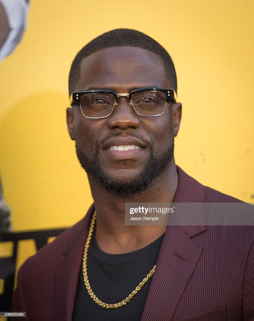 Actor Kevin Hart attends the premiere of Warner Bros Pictures' 'Central Intelligence' at Westwood Village Theatre on June 10 2016 in Westwood...