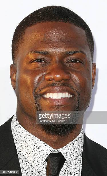 Actor Kevin Hart attends the Premiere of Warner Bros Pictures' 'Get Hard' at the TCL Chinese Theatre IMAX on March 25 2015 in Hollywood California