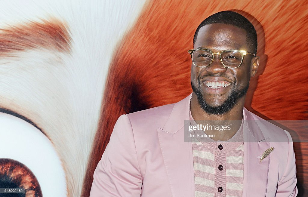 Actor Kevin Hart attends the 'Secret Life Of Pets' New York premiere on June 25, 2016 in New York City.