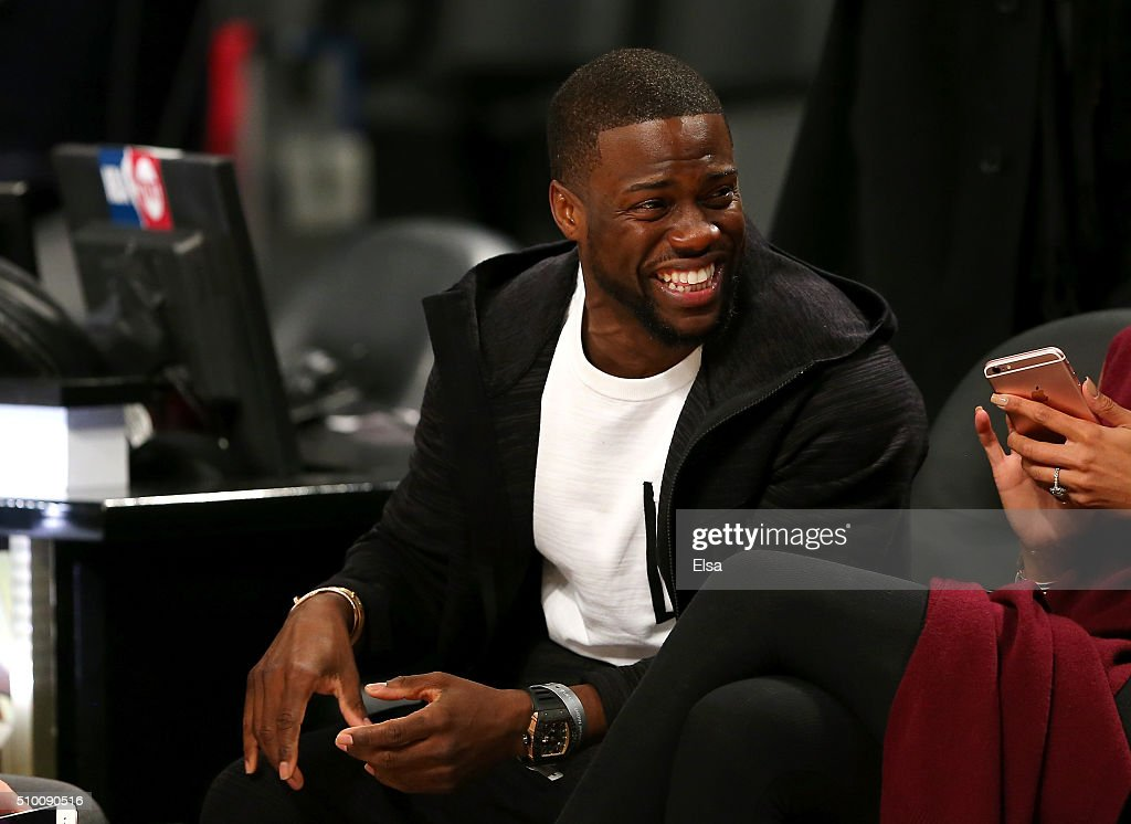 Actor Kevin Hart attends the Verizon Slam Dunk Contest during NBA All-Star Weekend 2016 at Air Canada Centre on February 13, 2016 in Toronto, Canada.
