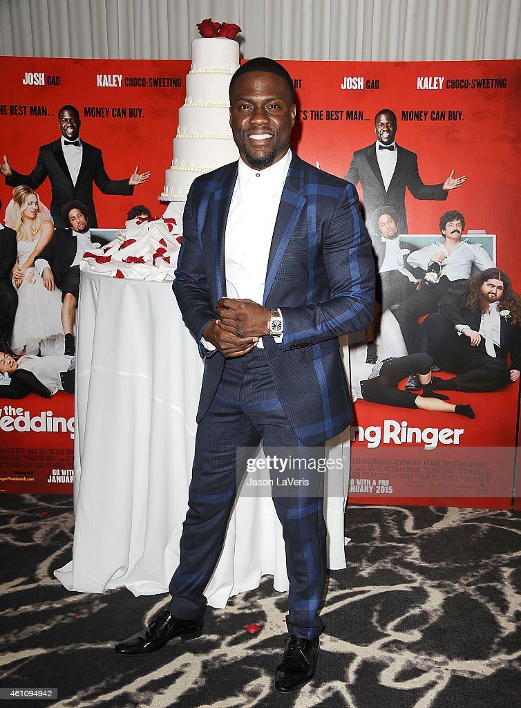 Actor Kevin Hart Attends The Wedding Ringer Photo Call At Sls Hotel Picture