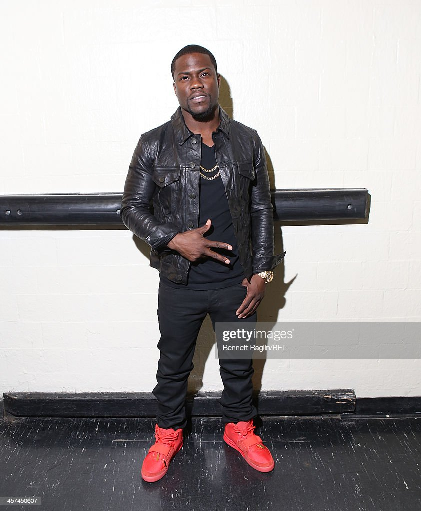 Actor Kevin Hart visits 106 & Park at BET studio on December 16, 2013 in New York City.