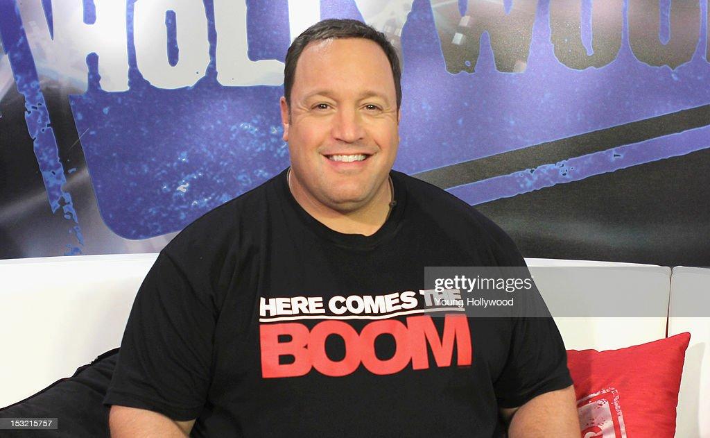 Kevin James Visits Young Hollywood Studio   Getty Images  Kevin James Vis...