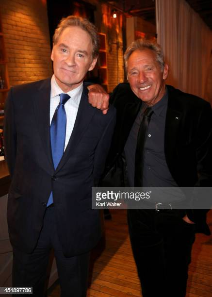 Actor Kevin Kline and director Israel Horovitz attend the 'My Old Lady' dinner hosted by Brassaii during the 2014 Toronto International Film Festival...