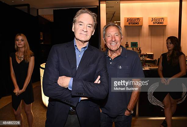 Actor Kevin Kline and writer/director Israel Horovitz attends the Variety Studio presented by Moroccanoil at Holt Renfrew during the 2014 Toronto...