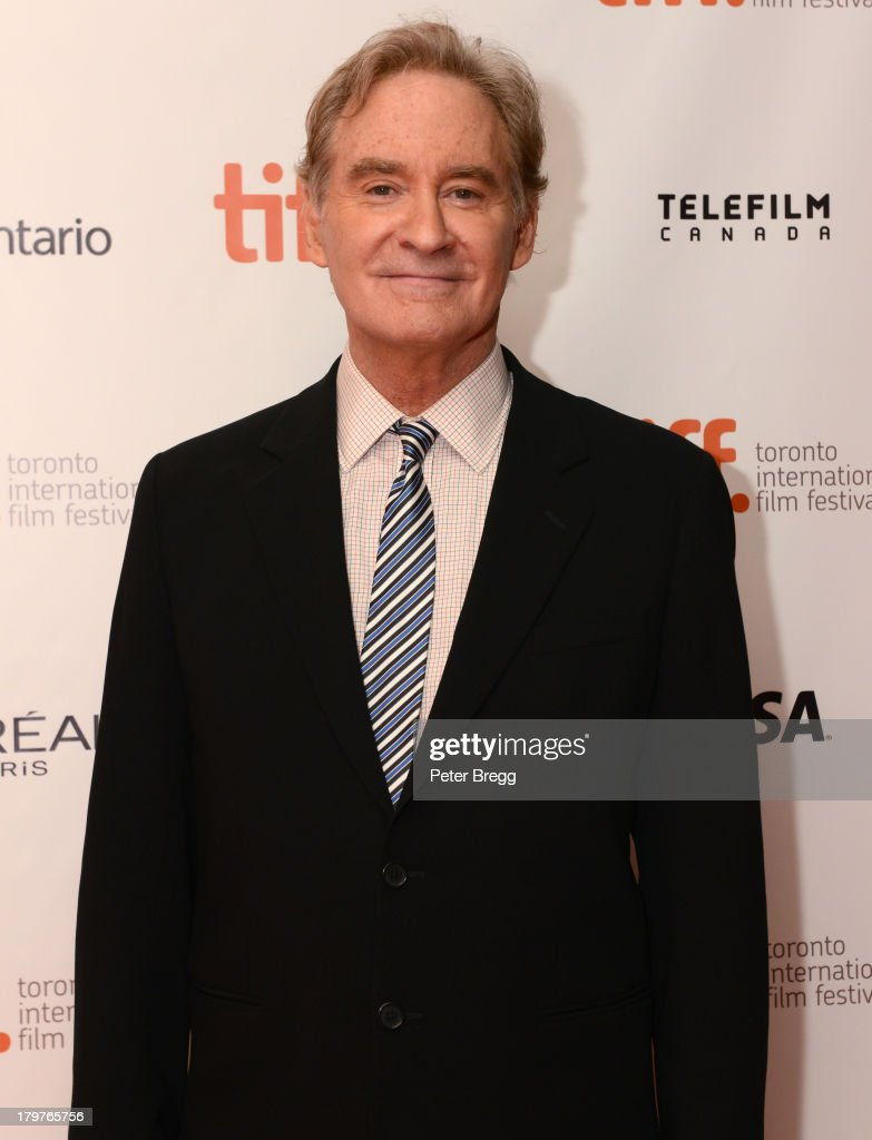 Actor Kevin Kline arrives at 'The Last Of Robin Hood' premiere during the 2013 Toronto International Film Festival at Isabel Bader Theatre on September 6, 2013 in Toronto, Canada.