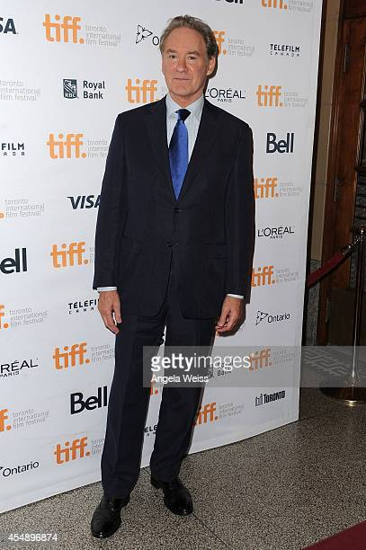 Actor Kevin Kline attends the 'My Old Lady' premiere during the 2014 Toronto International Film Festival at Winter Garden Theatre on September 7 2014...