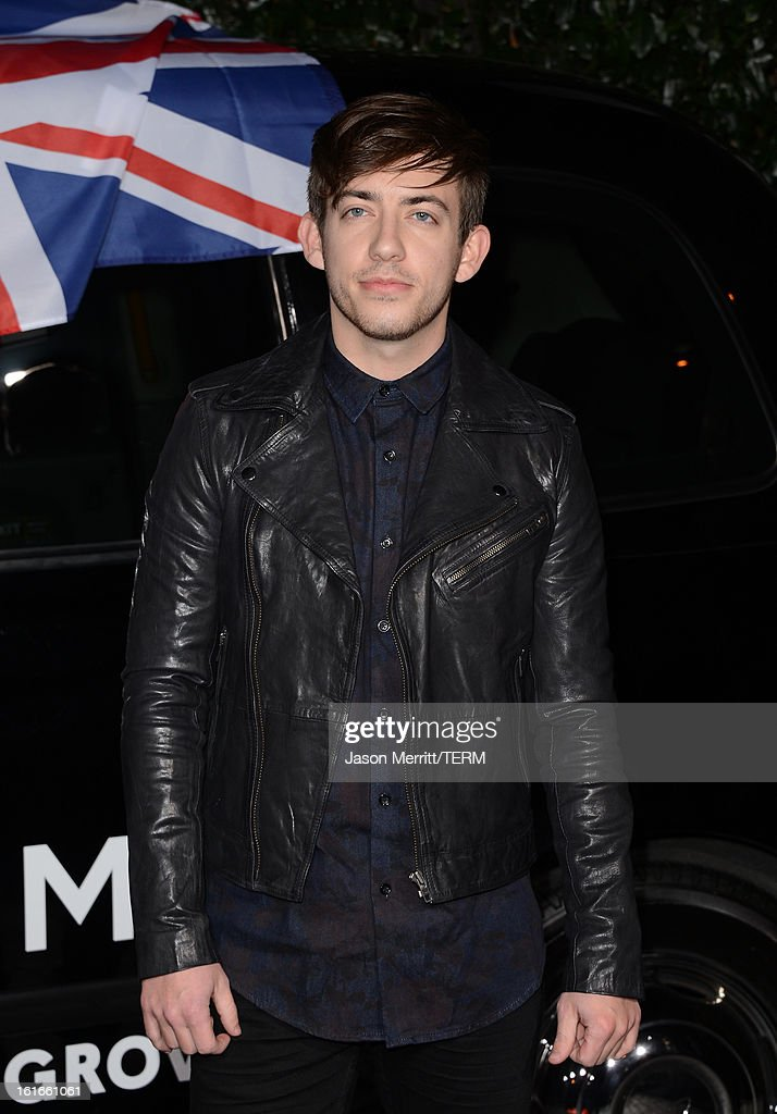 Actor Kevin McHale arrives at the Topshop Topman LA Opening Party at Cecconi's West Hollywood on February 13, 2013 in Los Angeles, California.