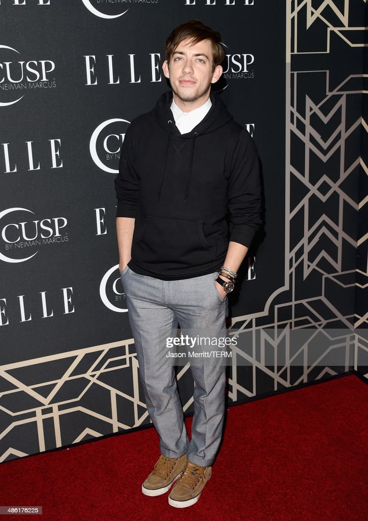 Actor Kevin McHale attends the 5th Annual ELLE Women in Music Celebration presented by CUSP by Neiman Marcus. Hosted by ELLE Editor-in-Chief Robbie Myers with performances by Sarah McLachlan, Angel Haze and Betty Who, with special DJ set by Rumer Willis at Avalon on April 22, 2014 in Hollywood, California.