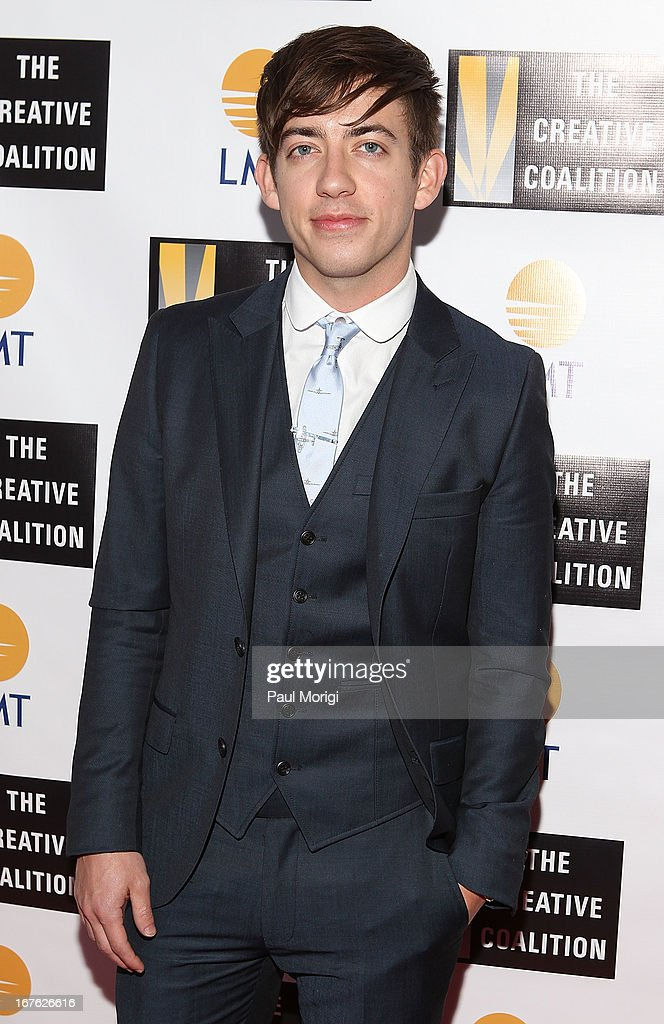 Actor Kevin McHale attends The Creative Coalition's and Lanmark Technology Inc.'s celebration of the Arts in America at Neyla on April 26, 2013 in Washington, DC.