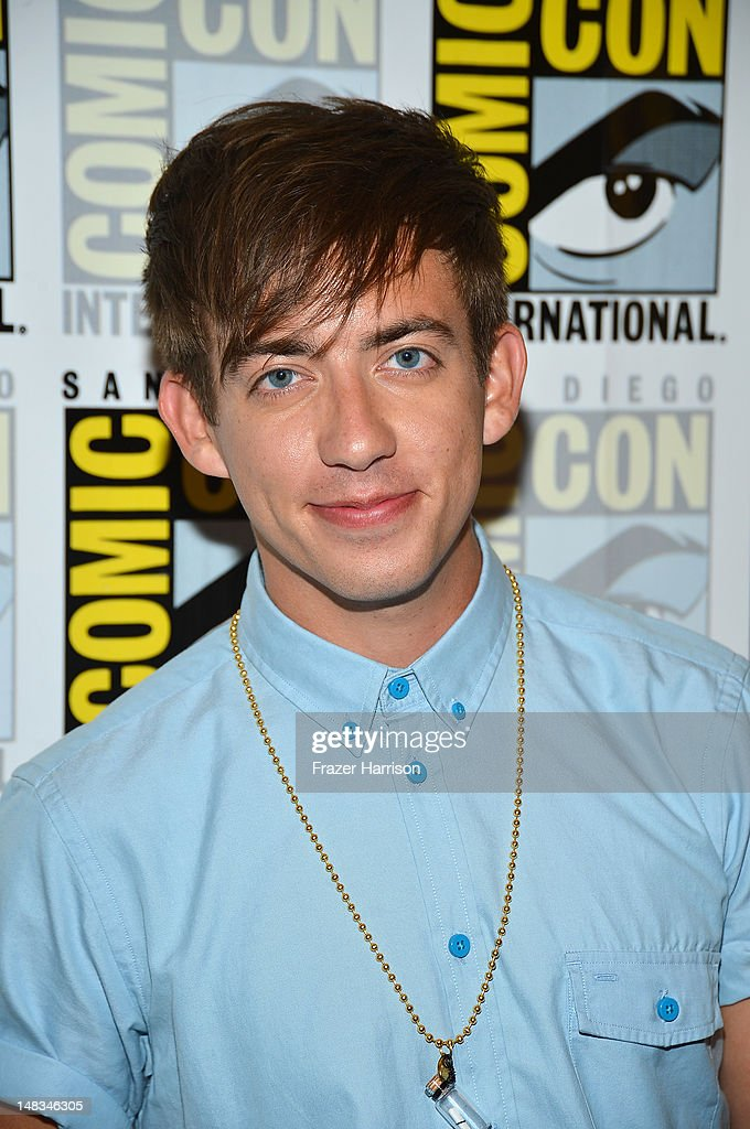 Actor Kevin McHale attends the 'GLEE' Press Room during Comic-Con International 2012 held at the Hilton San Diego Bayfront Hotel on July 14, 2012 in San Diego, California.