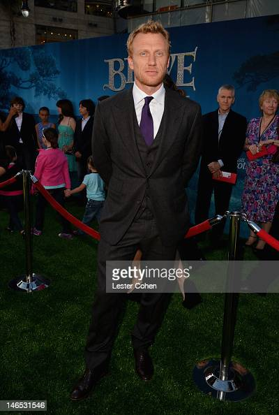 Actor Kevin McKidd arrives at Disney Pixar's 'Brave' World Premiere at Dolby Theatre on June 18 2012 in Hollywood California