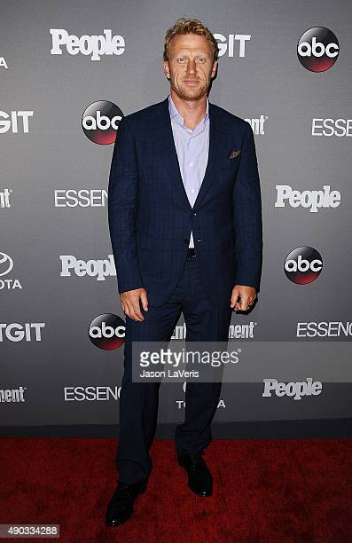 Actor Kevin McKidd attends ABC's TGIT premiere event on September 26 2015 in West Hollywood California