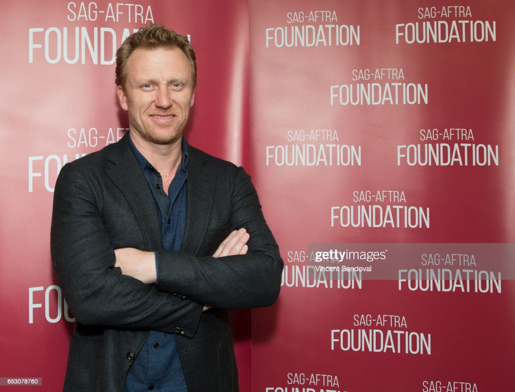 Actor Kevin McKidd attends SAG-AFTRA Foundation's Conversations with 'Grey's Anatomy' at SAG-AFTRA Foundation Screening Room on March 13, 2017 in Los Angeles, California.