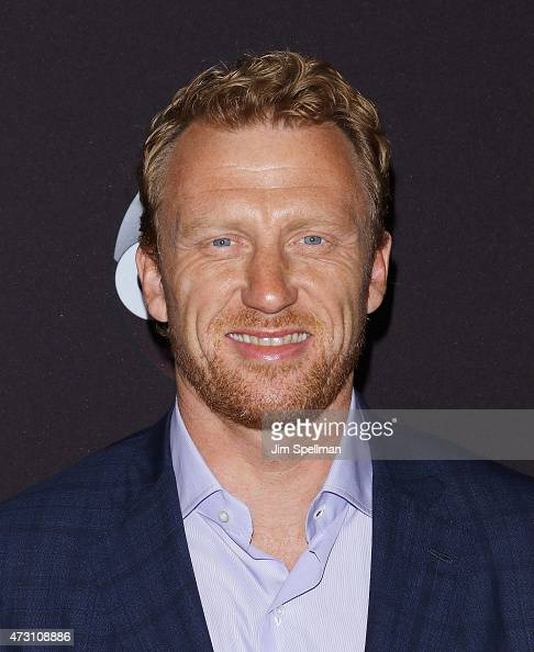 Actor Kevin McKidd attends the 2015 ABC upfront presentation at Avery Fisher Hall at Lincoln Center for the Performing Arts on May 12 2015 in New...