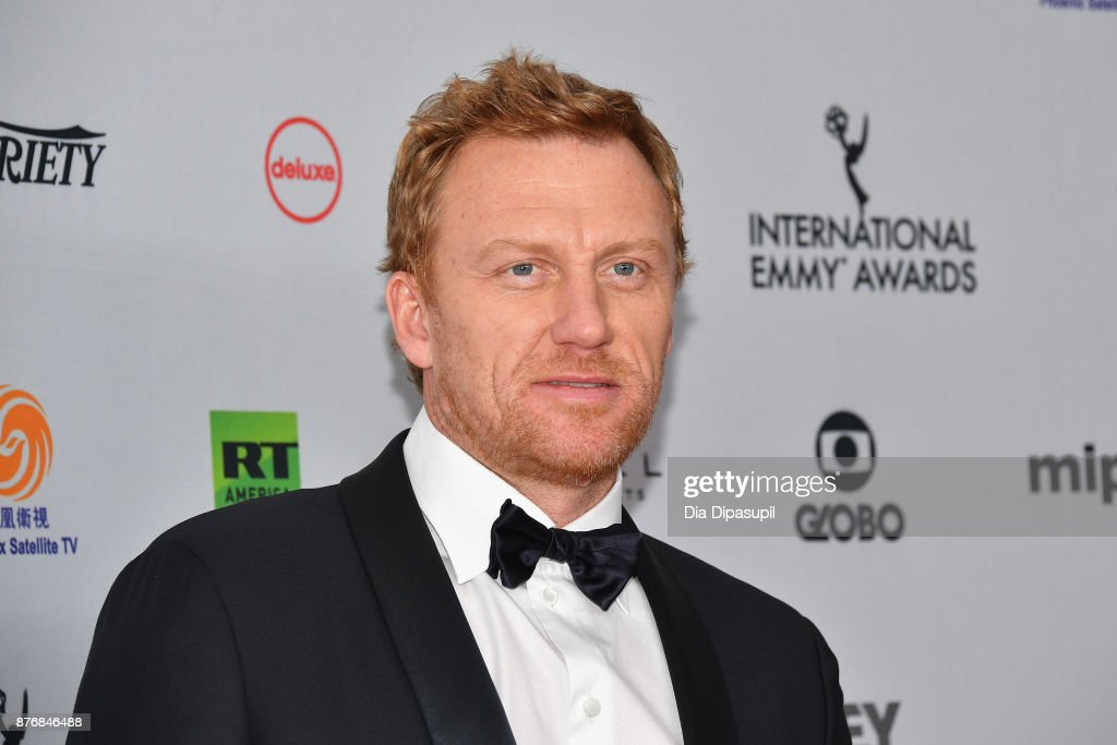 Actor Kevin McKidd attends the 45th International Emmy Awards at New York Hilton on November 20, 2017 in New York City.