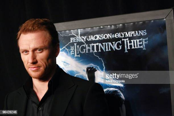 Actor Kevin McKidd attends the 'Percy Jackson The Olympians The Lightning Thief' special screening at AMC Loews Lincoln Square 13 theater on February...