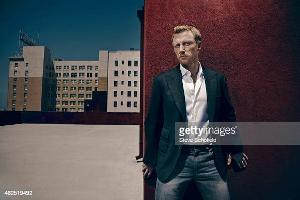 Actor Kevin McKidd is photographed for ES magazine on August 1 2012 in Los Angeles California