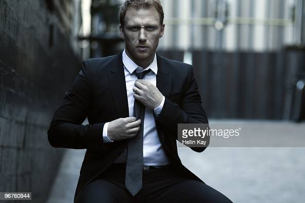 Actor Kevin McKidd poses at a portrait session for Signature in Los Angeles CA on February 1 2010 Published Image