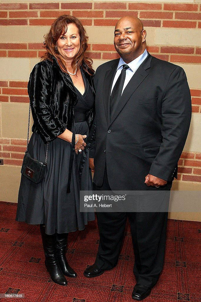 Actor Kevin Michael Richardson and wife Monica Richardson attend the 40th Annual Annie Awards after party held at Royce Hall on the UCLA Campus on February 2, 2013 in Westwood, California.