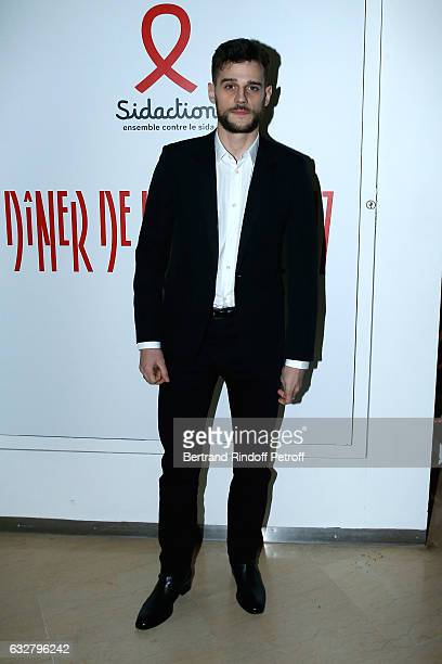 Actor Kevin Mischel attends the Sidaction Gala Dinner 2017 Haute Couture Spring Summer 2017 show as part of Paris Fashion Week on January 26 2017 in...