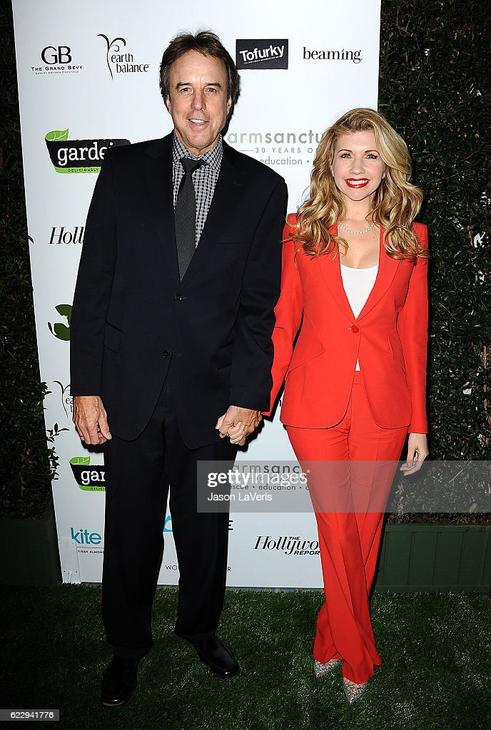 Actor Kevin Nealon and actress Susan Yeagley attend Farm Sanctuary's 30th anniversary gala at the Beverly Wilshire Four Seasons Hotel on November 12, 2016 in Beverly Hills, California.