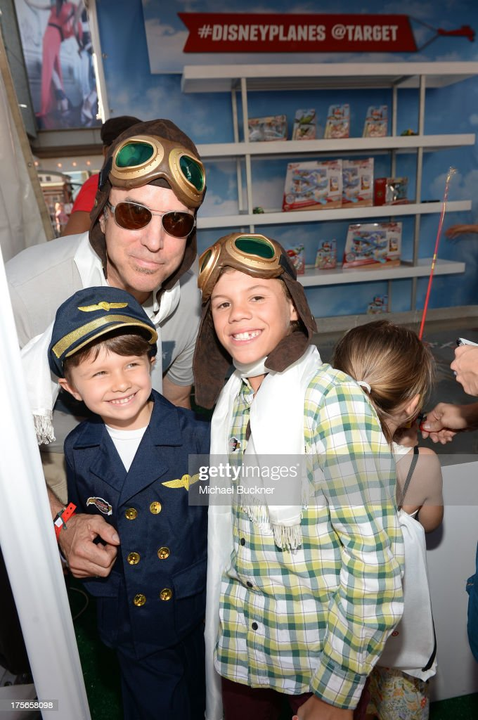 """Actor Kevin Nealon and guests attend the world-premiere of """"Disney's Planes"""" presented by Target at the El Capitan Theatre on August 5, 2013 in Hollywood, California."""