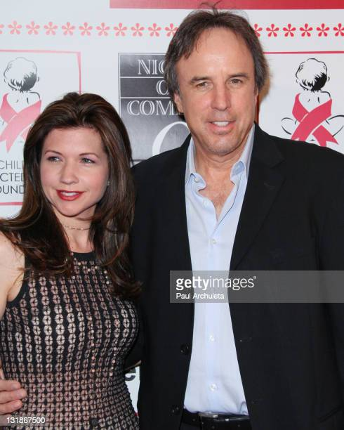 Actor Kevin Nealon and his guest Susan Yeagley arrive at the 9th Annual Night Of Comedy benefit at Saban Theatre on April 30 2011 in Beverly Hills...