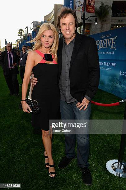Actor Kevin Nealon and Susan Yeagley arrive at Disney Pixar's 'Brave' World Premiere at Dolby Theatre on June 18 2012 in Hollywood California