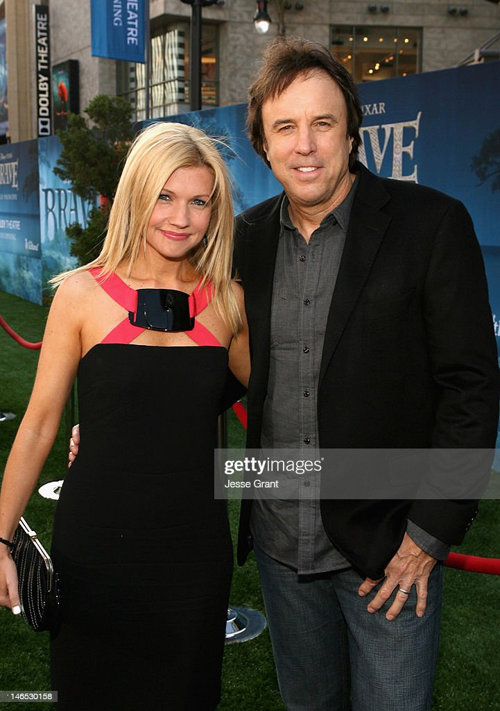 Actor <a gi-track='captionPersonalityLinkClicked' href=/galleries/search?phrase=Kevin+Nealon&family=editorial&specificpeople=214104 ng-click='$event.stopPropagation()'>Kevin Nealon</a> (R) and <a gi-track='captionPersonalityLinkClicked' href=/galleries/search?phrase=Susan+Yeagley&family=editorial&specificpeople=831901 ng-click='$event.stopPropagation()'>Susan Yeagley</a> arrive at Film Independent's 2012 Los Angeles Film Festival Premiere of Disney Pixar's 'Brave' at Dolby Theatre on June 18, 2012 in Hollywood, California.