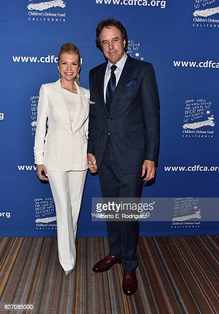 Actor Kevin Nealon and Susan Yeagley attend the 26th Annual Beat The Odds Awards hosted by Children's Defense Fund California at Regent Beverly...